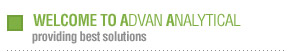 Welcome to Advan Analytical